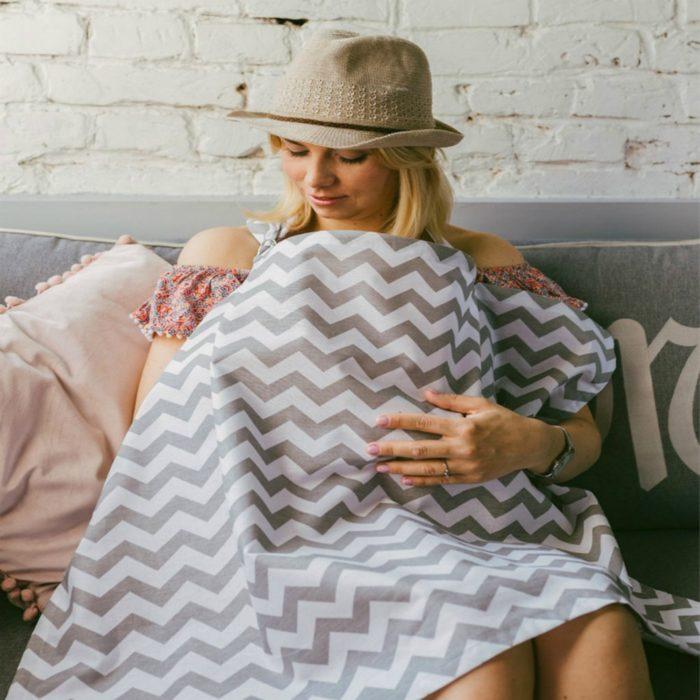 Breastfeeding Cover-Up Nursing Apron Breastfeeding Cover