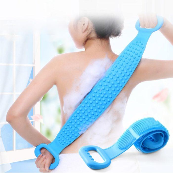 Silicone Back Scrubber Shower Accessory