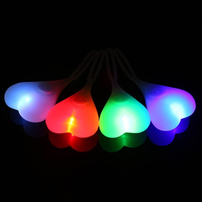 Cycling Balls Funny Bicycle Tail Light