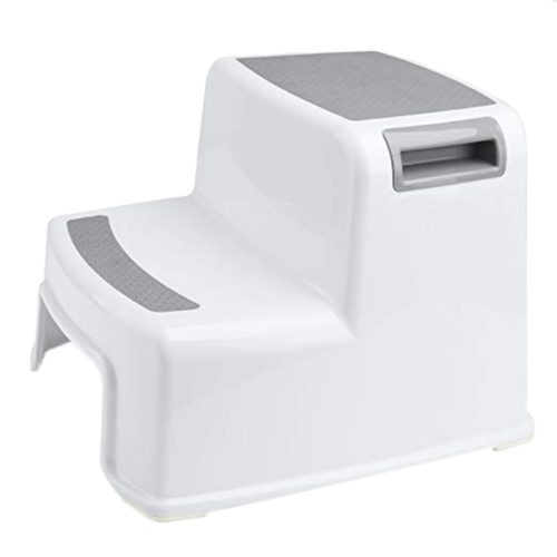 Wide Plastic Step Stool for Kids