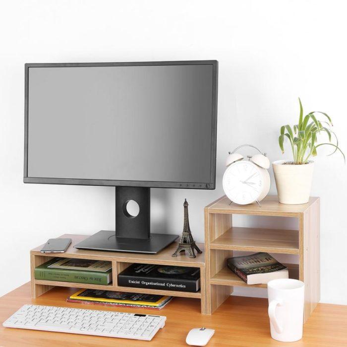 Desk Shelf Riser for Computer Monitor