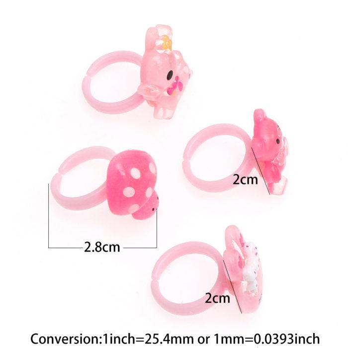 Rings For Children Cute Kids Rings (20Pcs.)Rings For Children Cute Kids Rings (20Pcs.)