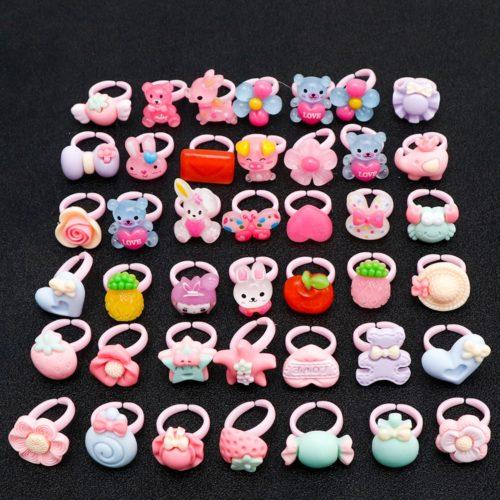 Rings For Children Cute Kids Rings (20Pcs.)