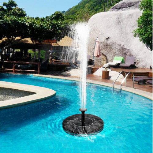 Solar Fountain Pump Floating Water Decor