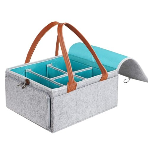 Felt Storage Basket Fabric Organizer