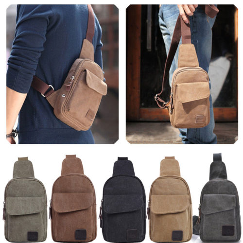 Crossbody Chest Sling Bag for Men