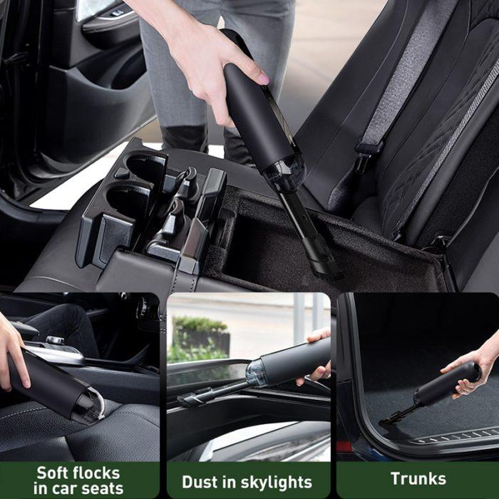 Handheld Car Vacuum Cordless Device