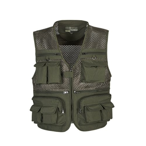 Fisherman Vest Fishing Mesh Jacket