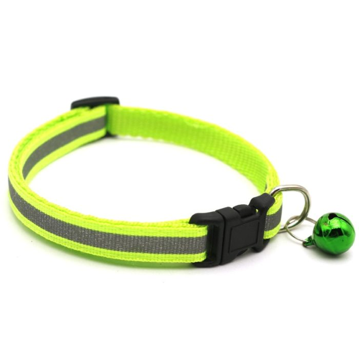 Reflective Cat Collar With Bell