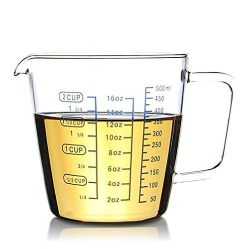 Glass Measuring Cup 500ml Cup