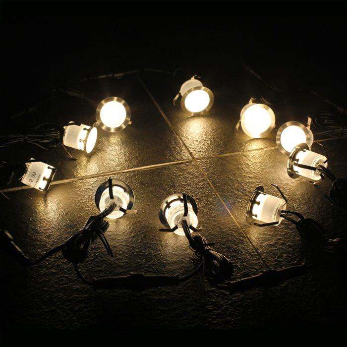 Deck Light 10PCs LED Lamps