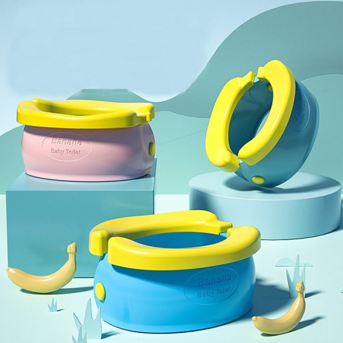 Portable Kid Potty Banana Design Potty