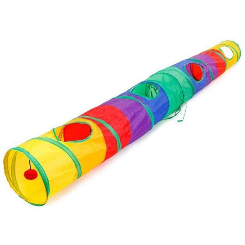 Cat Toy Tunnel Collapsible Play Tunnel