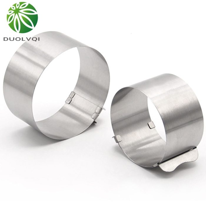 Cake Ring Adjustable Stainless Mold
