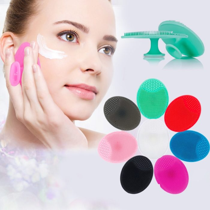 Silicone Face Scrubber Exfoliating Brush