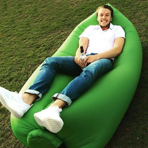 Inflatable Beach Chair Portable Air Sofa