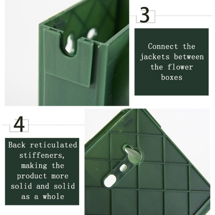 Self Watering Outdoor Wall Planter