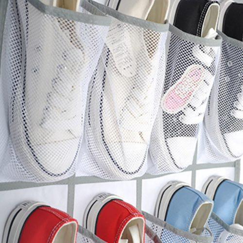 Hanging Over Door Shoe Storage