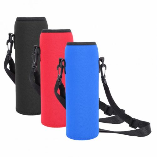 Water Bottle Sleeve with Strap