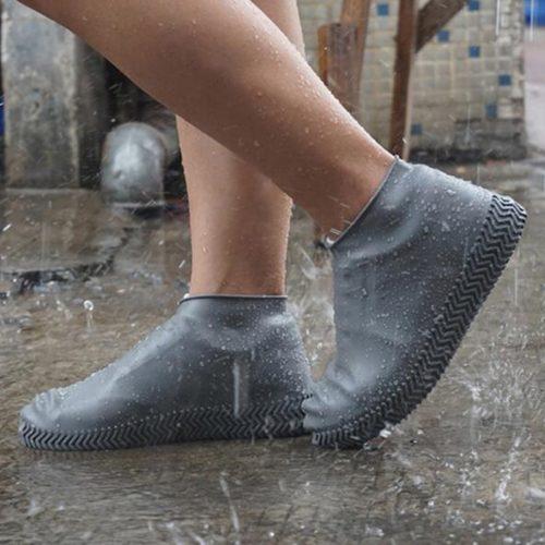 Waterproof Shoe-Covers Latex Socks
