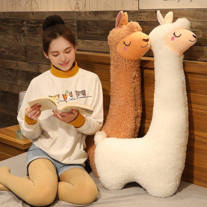 Alpaca Stuffed Animal Cute Animal Pillow