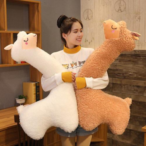 Alpaca Stuffed Animal Cute Animal Pillow