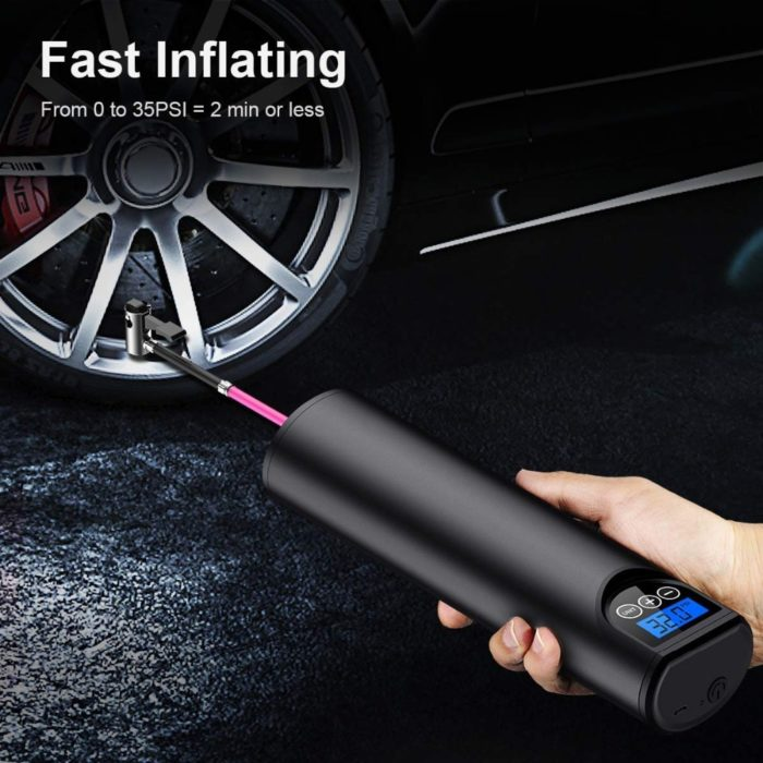 Rechargeable Air Pump Tire Inflator