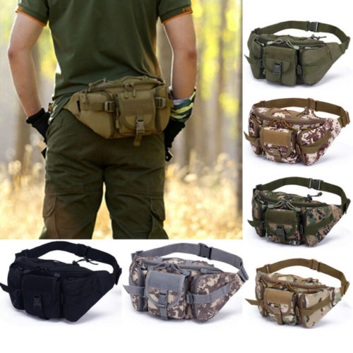 Hiking Fanny Pack Tactical Waist Bag