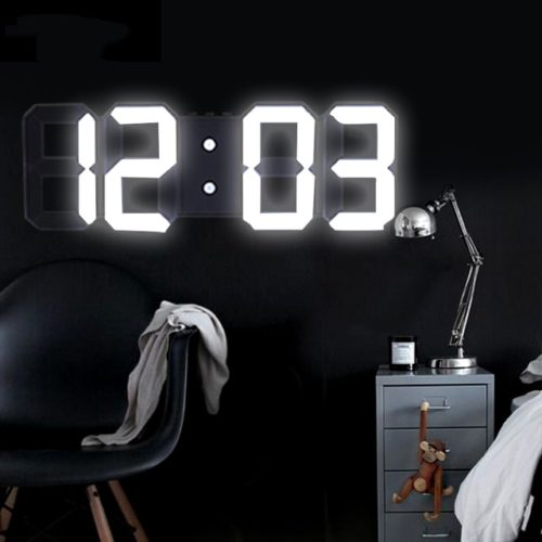 3D Clock LED Digital Wall Clock