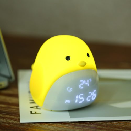 Rechargeable Night Light with Clock