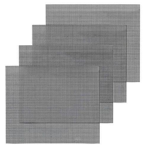 BBQ Grill Mesh Non-Stick Net Mat (4 pcs)
