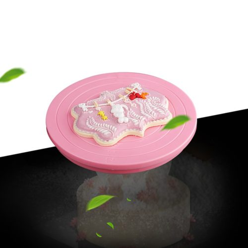 Cake Decorating Turntable Rotatable Stand