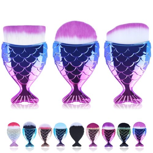 Mermaid Brush Makeup Tool