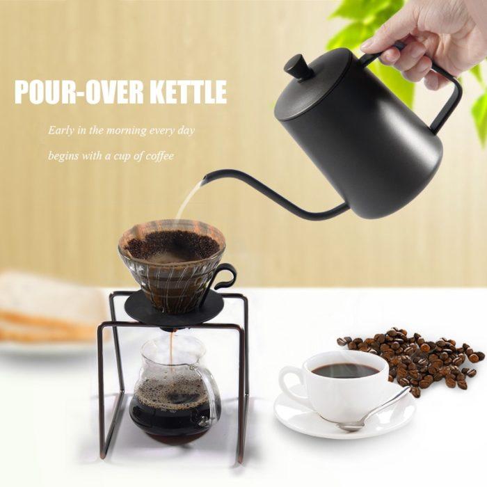 Gooseneck Kettle Pour-Over Drip Kettle