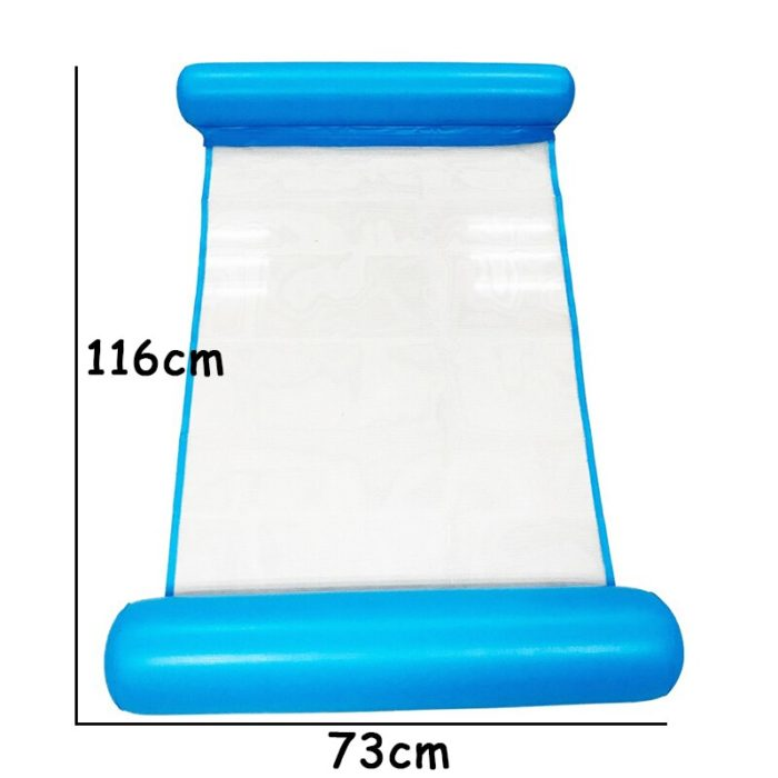 Floating Pool Chair Inflatable Lounger Chair