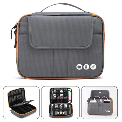 Carrying Gadget Bag with 2 Layers