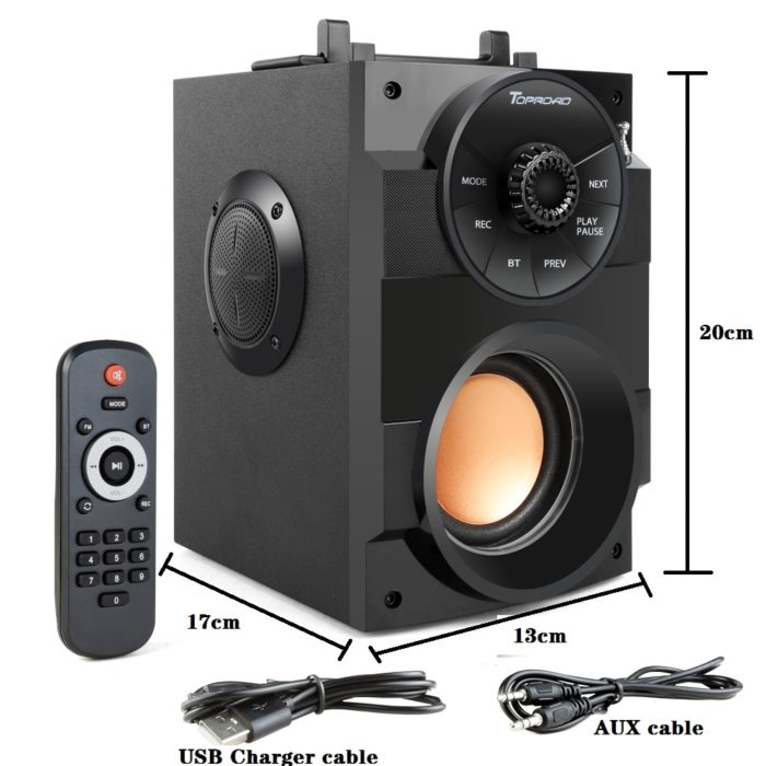 Bluetooth Speaker Subwoofer Portable Stereo