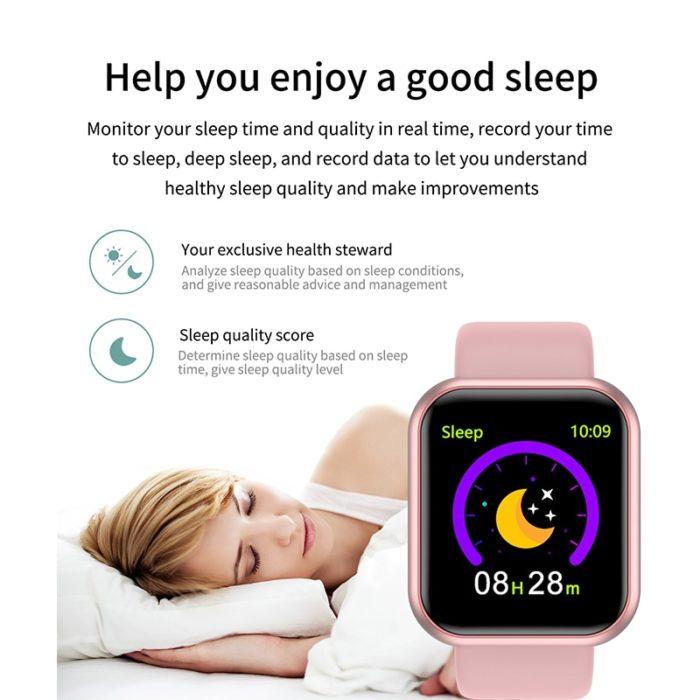 Running Smartwatch Heart Rate Tracker