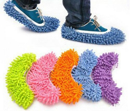 Mop Shoes Cover Floor Cleaning Socks