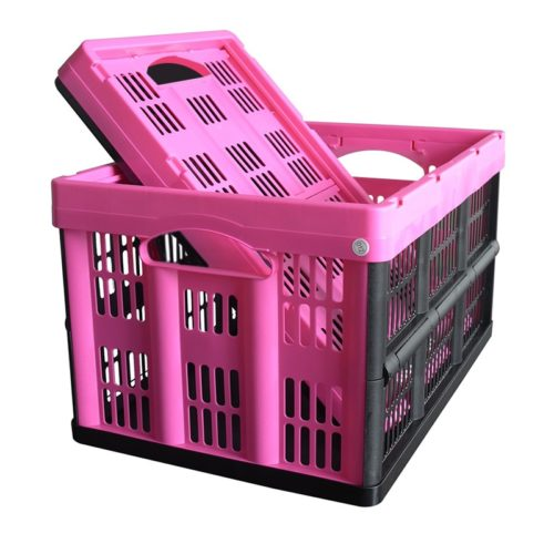 Foldable Crate Plastic Organizer