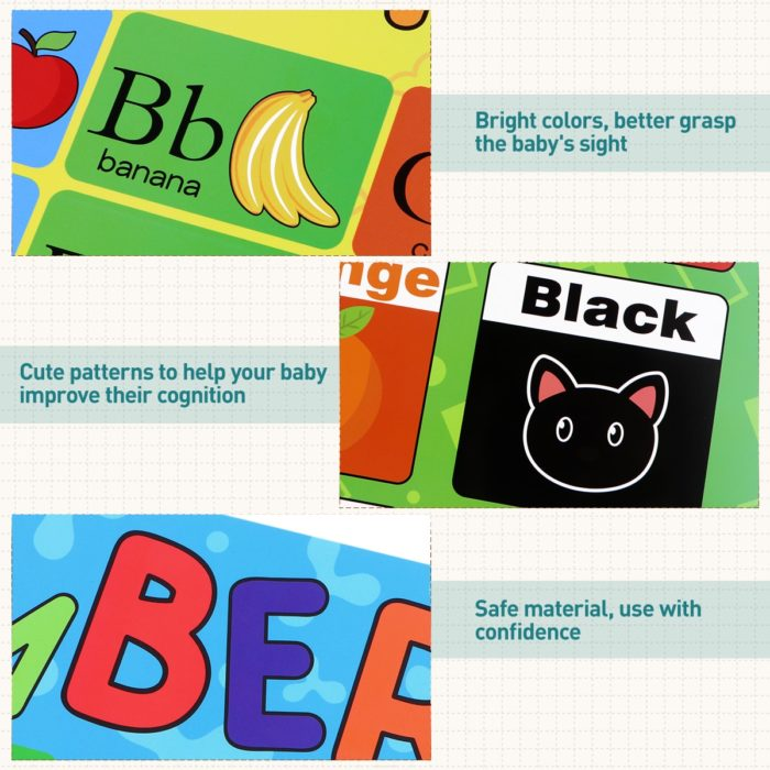 Educational Preschool Posters (10Pcs)