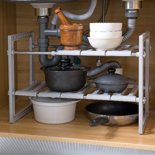 Under Sink Organizer Two-Layer Rack