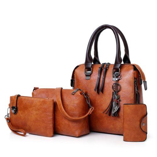 Handbags Set for Women (4Pcs)