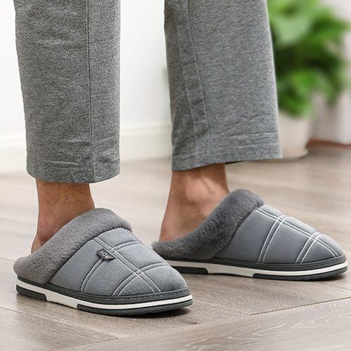 Men's Indoor Slippers with Soft Material