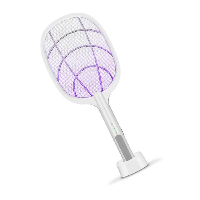 Electric Mosquito Racket Rechargeable Swatter