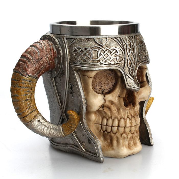 Viking Mug Stainless Steel Coffee Cup