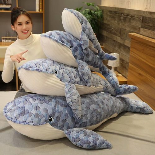 Whale Stuffed Animal Soft Plush Toy