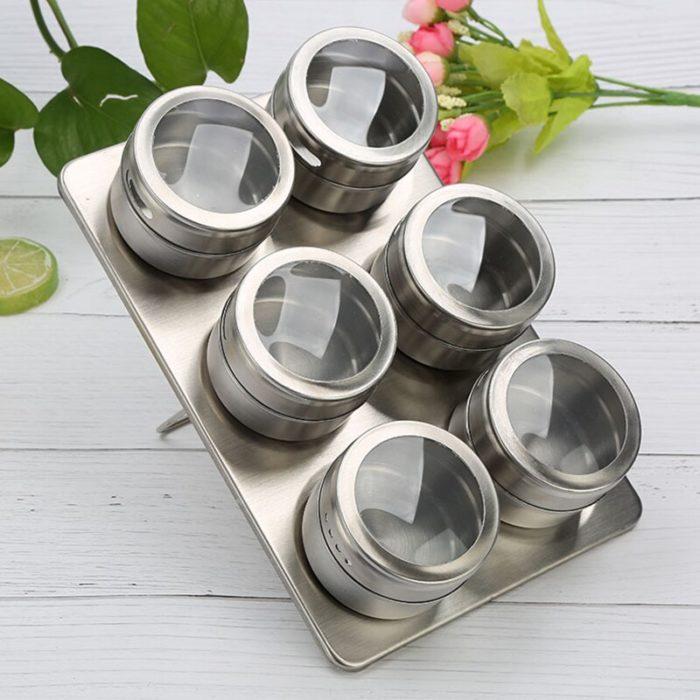 Magnet Spice Jars Seasoning Bottles