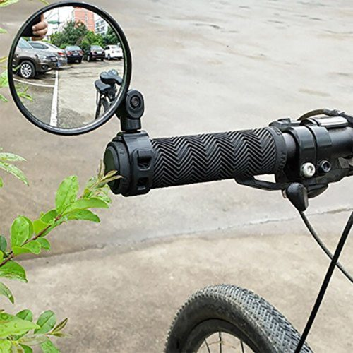 Bike Rearview Mirror Handlebar Glass