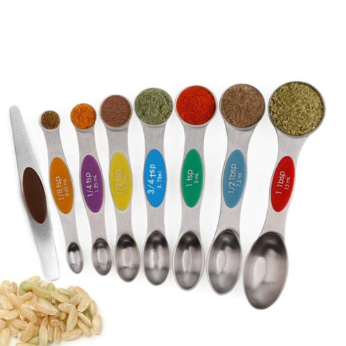 Magnetic Measuring Spoons Set (8pcs)